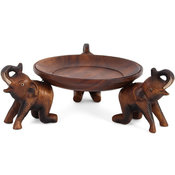 Elefantfat i trä