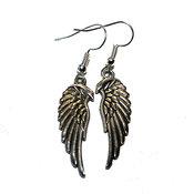Örhängen - Tibet silver - Wings