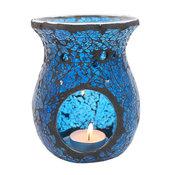 Mosaik Aromalampa - Blå