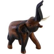 Elefant i trä