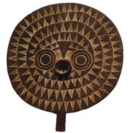 Afrikansk Tribal Mask