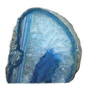 Ljuslykta Agat - kristallblå