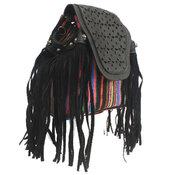 Handväska / Ryggsäck med fransar