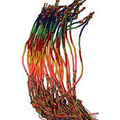 Knytarmband - Rainbow