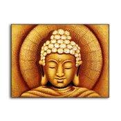 Tavla Budda oljemålning