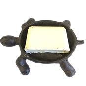 Tvålfat Antik gjutjärn - Turtle Vintage