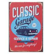 Plåtskylt - Retro - Classic Garage