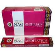 Rökelsepinnar - Golden Nag - Meditation