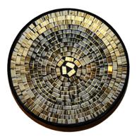 Mosaikskål - Guld