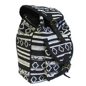 Nepal Backpack - Svart/Vit