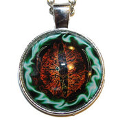 Glas Amulett