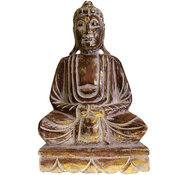 Stor Budda -  Albesia trä
