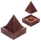 Rökelsehållare Pyramid