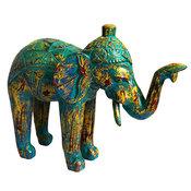Elefant - Antikblå