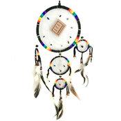 Drömfångare 50cm - Svart Rainbow