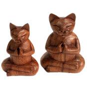 Rökelsehållare Katt