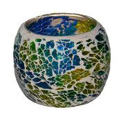 Mosaiklykta - Gul & Blå