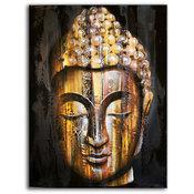 Tavla - Budda Oljemålning
