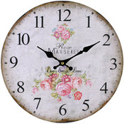 Klocka - Rose Vintage
