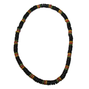 Halsband trä - Rasta