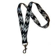 Nyckelband - Vit/svart