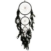 Drömfångare - 60 cm Stor svart