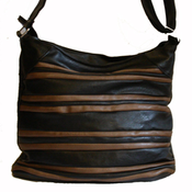 Handväska - Svart/brun