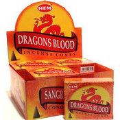 Rökelsekoner - Dragonblood